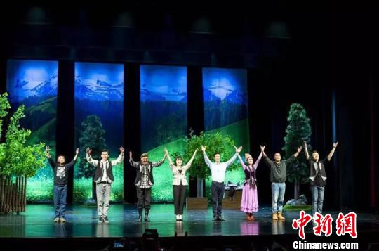 《那拉提恋歌》新疆巡演 呈现新萄京干部感人故事