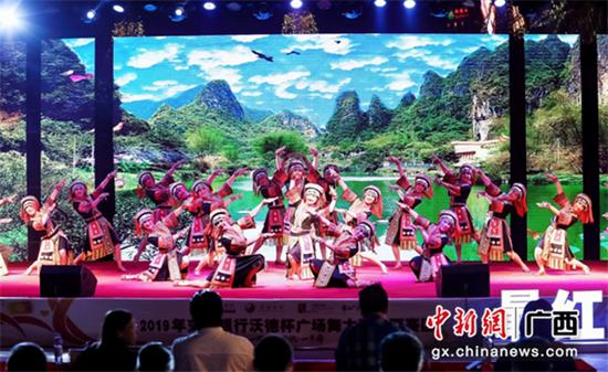 冠军舞队:桂林分赛区艺之旅艺术团《银铃欢歌》表演