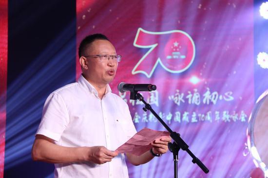 民建杭州市委会主委郭清晔致辞。张丹 摄