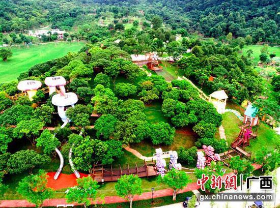图为青秀山新东区景观-青少年科普研学营地鸟瞰。赖有光 摄