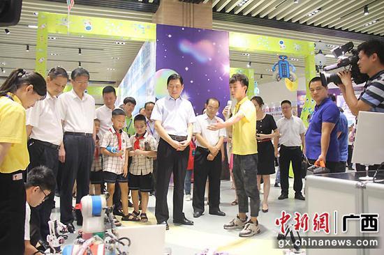 第七届广西青少年科学节启动
