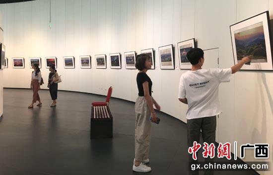 """""""壮美广西""""2019年广西文化旅游摄影展9月11日在广西美术馆开展。"""
