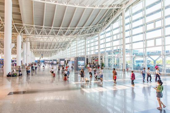 杭州机场。杭州机场供图