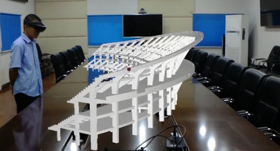 BIM+AR增强现实技术可视化图