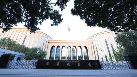 新疆图书馆开馆 智能化为核心