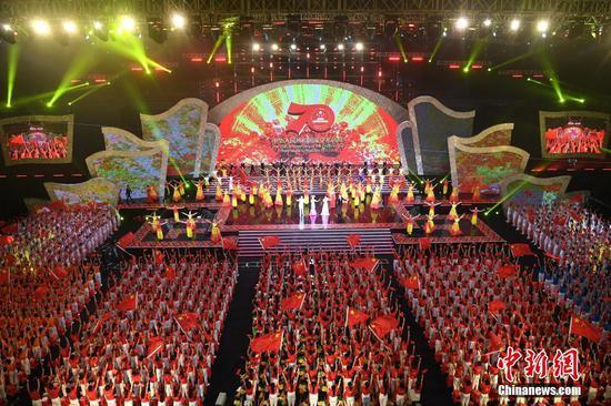 第21届南宁国际民歌艺术节开幕 京东网上彩票真的吗,中外新生代歌手精彩献唱