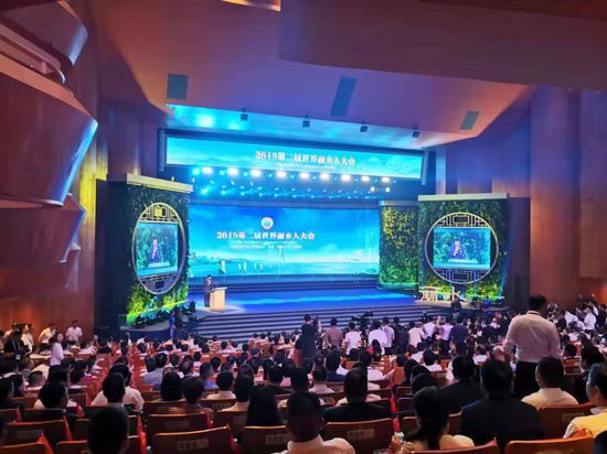领秀娱乐分分彩,2019第二届世界丽水人大会 周禹龙供图