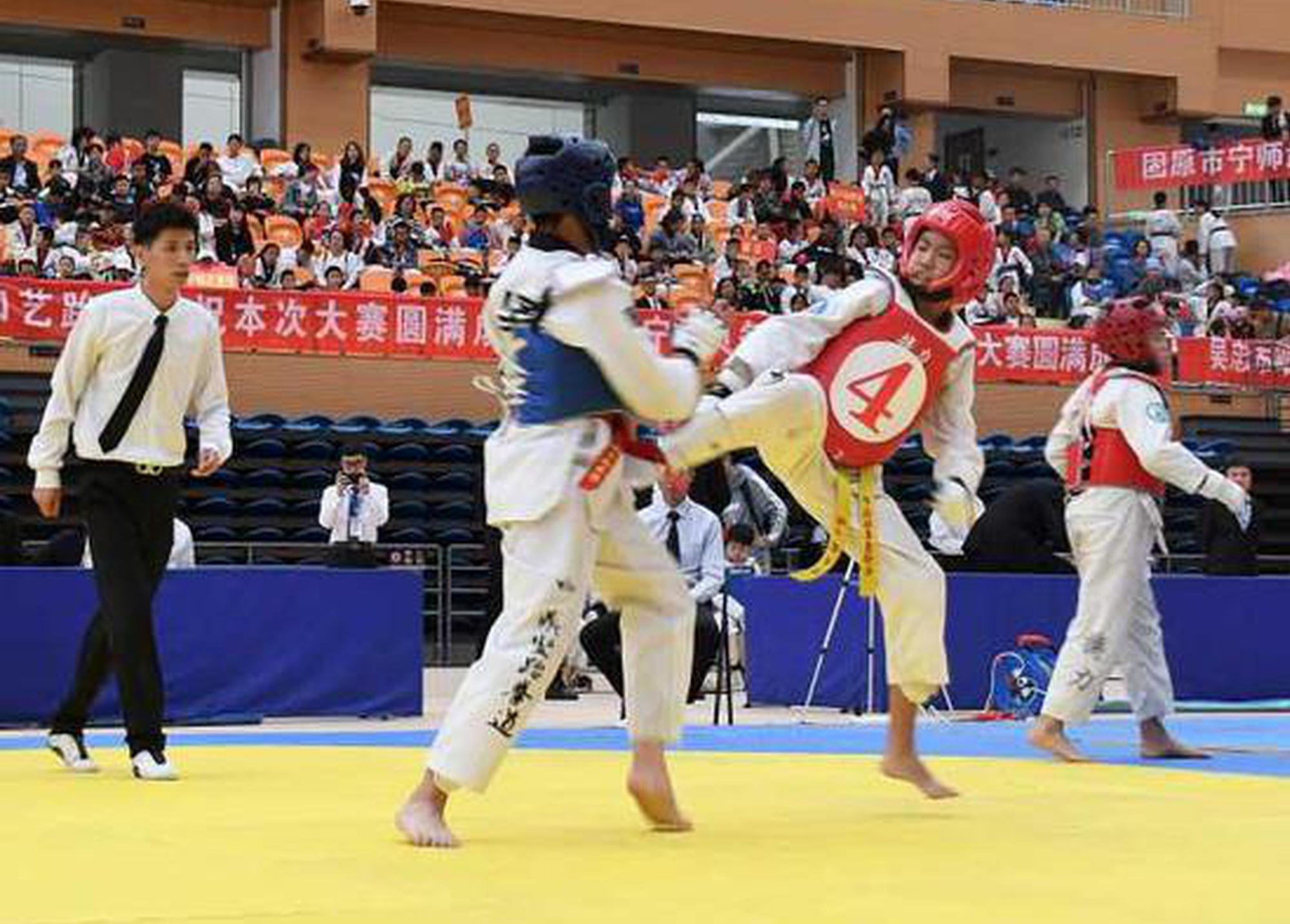 宁夏跆拳道选拔赛收官 团体前三名是他们
