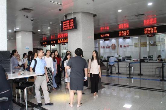 杭州滨江法院。 滨江法院供图