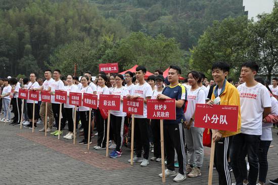图为:来自浙江全省的200位选手参加比赛。  实习生 王伟臣 摄