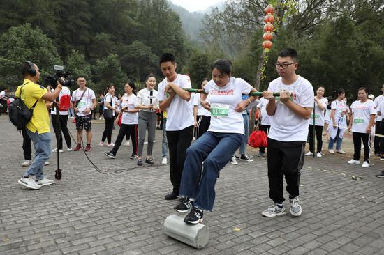 浙江省生态运动会:在青山绿水间体验民族体