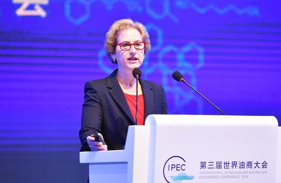BP集团综合供应与贸易东半球区域首席执行官温莎岚。 张茵摄