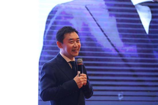 华为大学高级管理顾问王太文在现场分享。张丹 摄