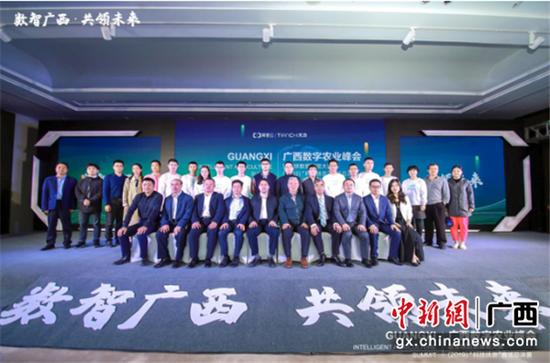 """广西数字农业峰会成功举办 打造""""数智广西""""新名片"""
