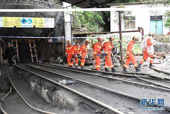 南丹一礦業公司冒頂事故初步核查有11人被困