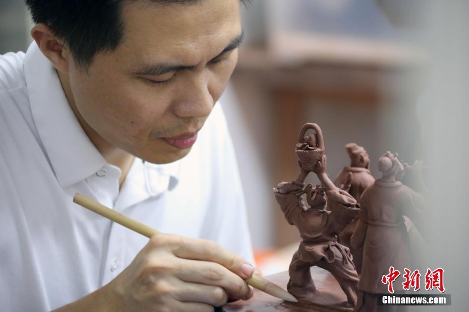 中國四大名陶之一:欽州坭興陶