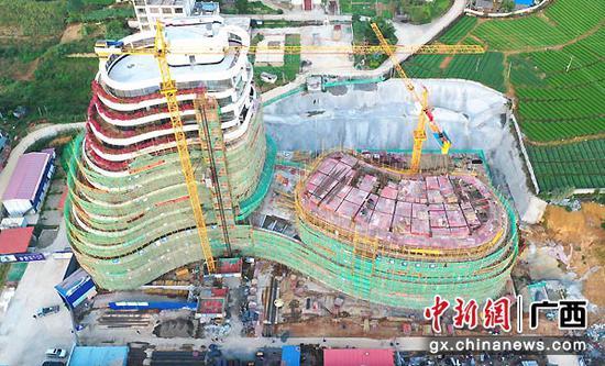 圖為深圳巴馬科技創新中心項目。