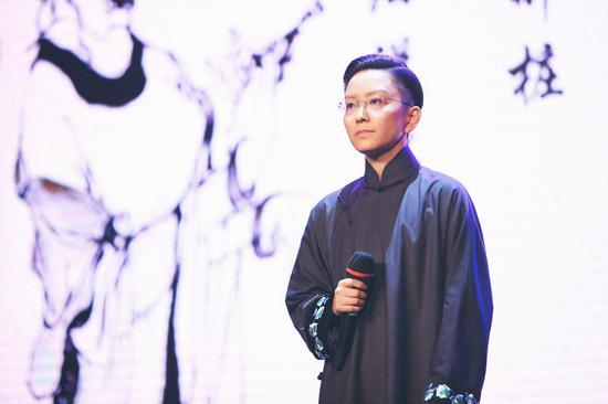 著名京剧演员王珮瑜。  主办方提供