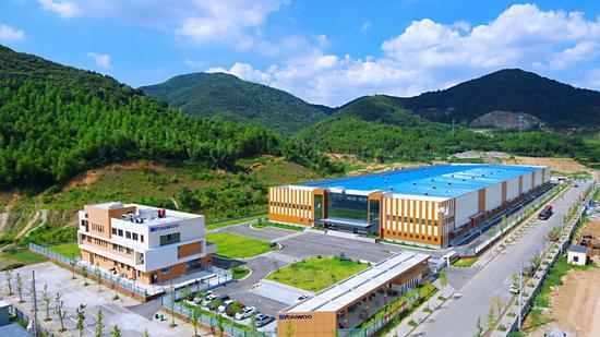 韩国Yonwoo包装材料(湖州)有限公司。 施紫楠 摄