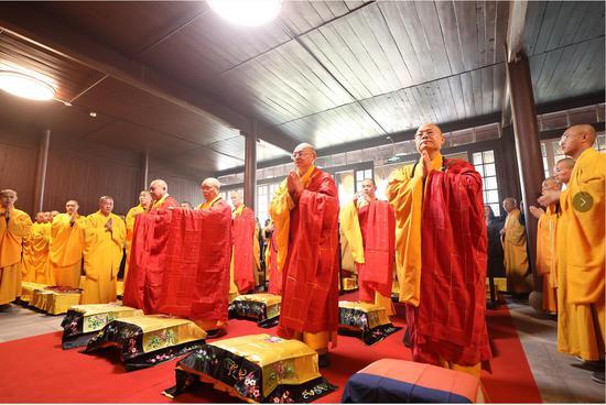 杭州顯寧寺對外開放。 余文華 供圖