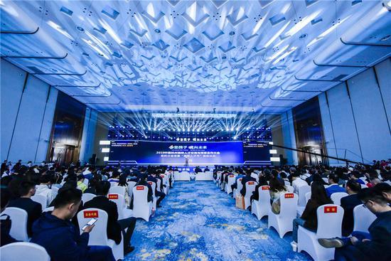 2019中国杭州国际人才交流与项目合作大会余杭分会场现场。 余宣 摄