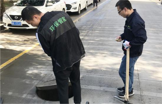 """""""环保管家""""现场处置消除企业环保问题隐患 温州市生态环境局供图"""
