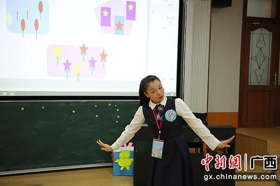 教师比赛。黄莹莹彭思梦 摄影报道