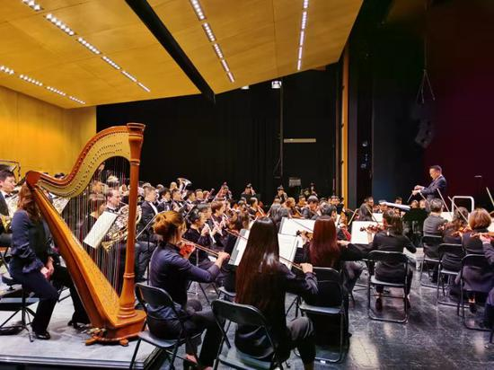 演出現場。由浙江交響樂團供圖