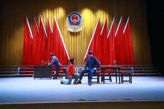 宁夏:京剧进军营为基层官兵献上国粹盛宴