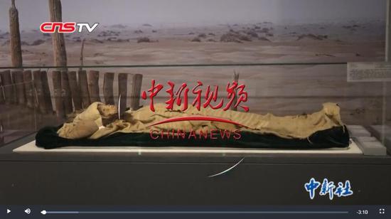 """三千多年前的""""小河公主""""領銜新疆文物首次""""進京"""""""