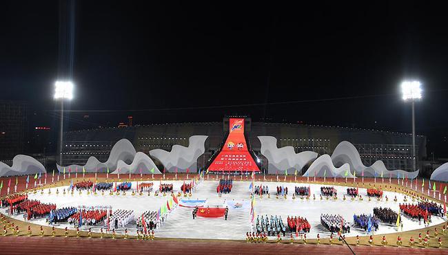 广西壮族自治区第十四届运动会在百色开幕