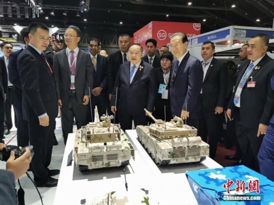 """""""中国军工""""亮相2019年泰国国际防务展"""