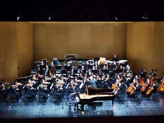 圖為音樂會演出現場。 浙江交響樂團供圖