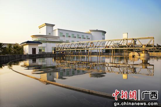 污水处理  专业净化。柳江融媒体中心供图