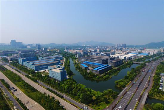 余杭经济技术开发区俯瞰图。 开发区供图