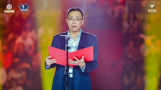 图为杭州市市委宣传部副部长、聚星国际动漫节执委会秘书长钮俊。主办方供图