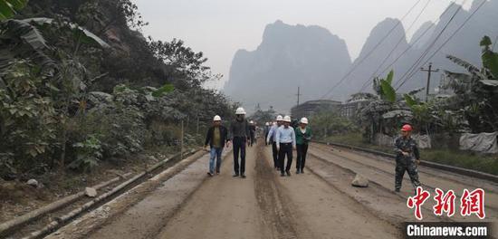 图为中信大锰厂区。 阮铭 摄
