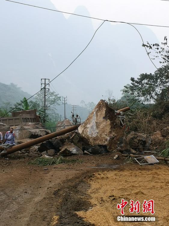 廣西靖西5.2級地震已致1人遇難