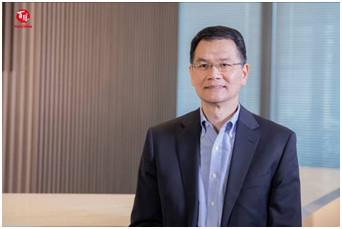 图为百胜中国肯德基品牌总经理黄进栓为大会发来视频寄语。 主办方供图