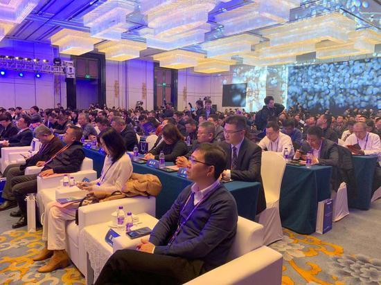 全国首届区块链服务网络BSN合作伙伴大会现场 应欣睿 摄