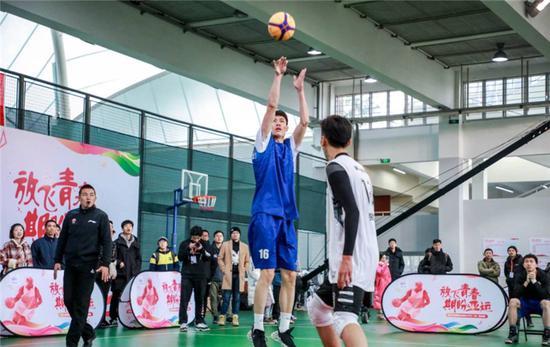 营造亚运氛围 浙江高校大学生三对三篮球赛