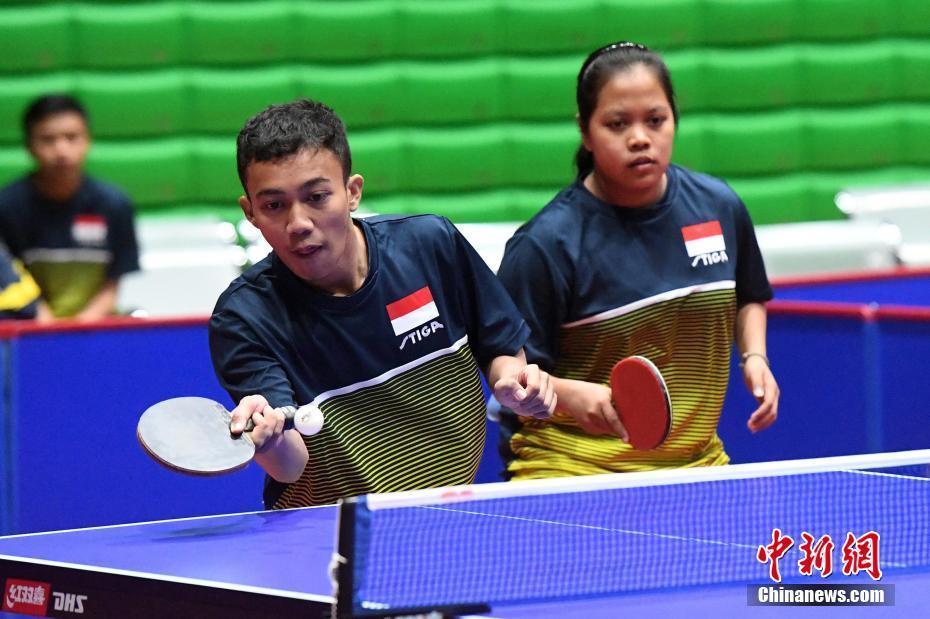 """2019""""丝路杯""""中国—东盟乒乓球赛广西开赛"""