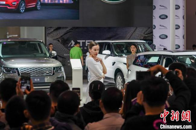 2019东盟国际车展在广西南宁开幕