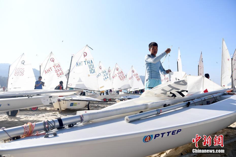 """2019""""一带一路""""国际帆船赛在普吉岛举行"""