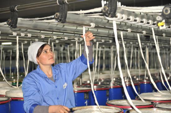 新疆伊寧縣開展萬人冬季職業技能精準大培訓