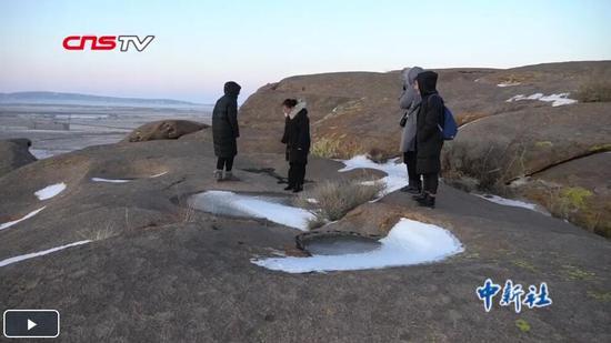 探訪新疆吉木乃千余處冰臼遺跡 曾發現史前生物仙女蝦