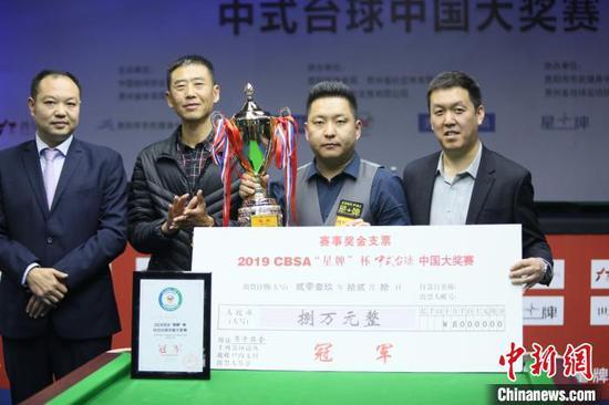 石汉青获得男子组冠军。