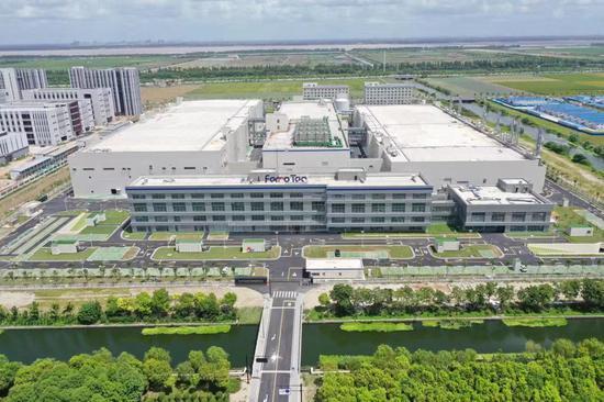 图为Ferrotec杭州中欣晶圆大尺寸半导体硅片项目效果图。 钱塘新区供图