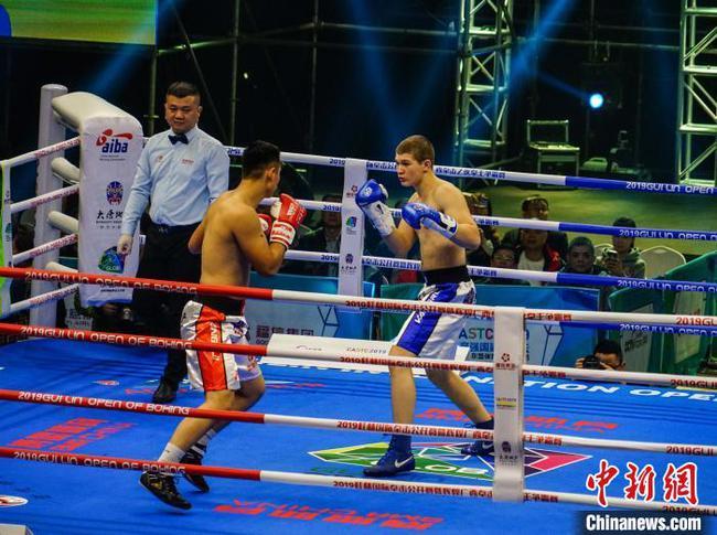广西桂林国际拳击公开赛 中国队收获3冠