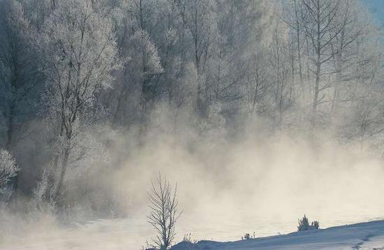 """2020年新疆布尔津将打造""""会发光""""的雾凇之旅"""